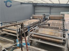 定制洗砂污水处理设备 环保污泥带式压滤机定制