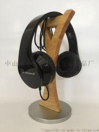 耳机展示架金属架挂钩耳机支架创意手支架机