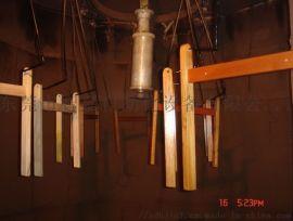 竹制品静电喷漆设备  竹框子表面处理生产线