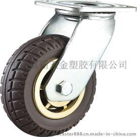威霸直销重型发泡脚轮  发泡橡胶脚轮