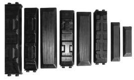 路面工程机械橡胶配件