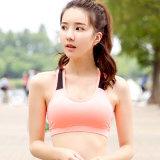 韓版新款運動速幹文胸瑜伽服套裝健身內衣背心女士