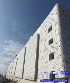 萍乡冲孔铝单板 穿孔铝板吸音板 2.0冲孔铝板价格
