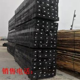 铁路工矿寖油枕木 现货销售防腐油寖枕木