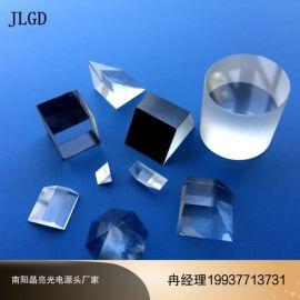晶亮光电定制等腰直角玻璃三棱镜