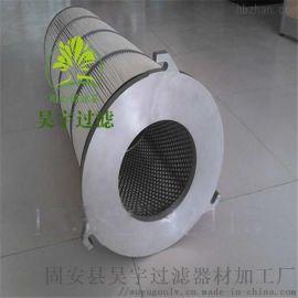 真空吸砂机除尘滤芯 三耳铝盖 聚酯纤维无纺布滤筒