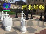 美陈景观玻璃钢商业街雕塑抽象小品商场展览活动国际象棋造型现货