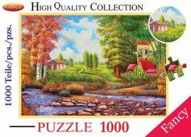1000PCS风景平面拼图系列产品(SY3142)