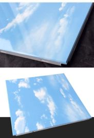 定制图案铝扣板来图定做仿天然景色铝扣板规格定做系列