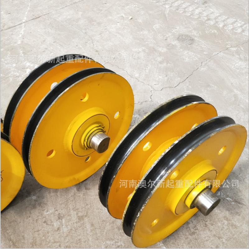廠家大量銷售起重機滑輪組 單雙樑起重機專用滑輪片