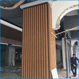 木纹铝方通吊顶 40*80u槽铝方通仿木纹铝方通天花装饰材料