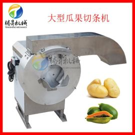 不锈钢大型切薯条机 红薯土豆切条机 瓜果切条机