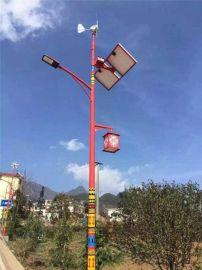 四川藏式LED太阳能路灯,藏族特色路灯杆定做