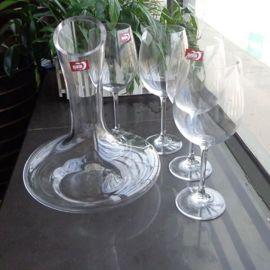 玻璃酒具套装 醒酒器 红酒杯 水晶酒具套装