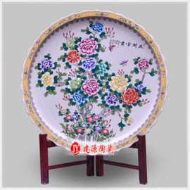 定做陶瓷大瓷盘,青花大盘子