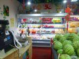 廣西水果保鮮展示櫃價格,廣西水果風幕櫃圖片