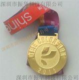 外貿鋅合金獎章 鍍金獎章獎牌