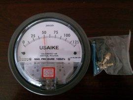 USAIKE2000型气体微差压表压差表