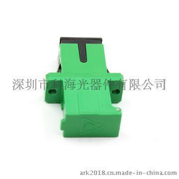 自动门SC光纤适配器  光纤法兰盘  光纤连接器-深圳科海