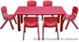 喜尔康供应幼儿塑料六人桌椅