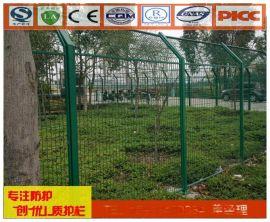 汕头轨道防护围栏 广州道路隔离栅厂 南沙铁丝网道路围栏网直供