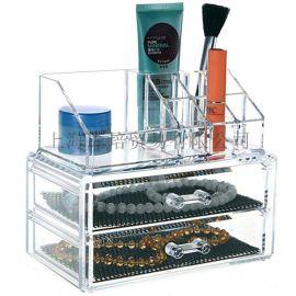 **热销多层抽屉式收纳盒 可分开 亚克力展示盒 桌面收纳盒