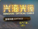 风电场项目光缆GYFTA53非金属加强芯双铠装直埋光缆单模4芯6芯8芯12芯48芯96芯