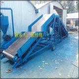 升降皮帶機生產,裝卸車輸送機,方管帶式輸送機