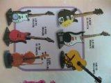 音樂吉他手提琴