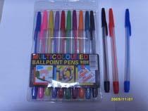 944, 583 简易广告塑料插套圆珠笔