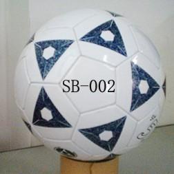 光面PVC5号机缝足球 (SB-002)