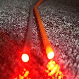 供应鼠标垫通体光纤 侧光发光效果好 家居装饰