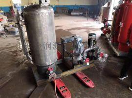 蒸汽回收机冷凝水回收设备配套大流量耐高温补水泵厂家