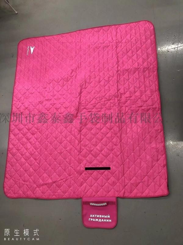 专业生产新款裥棉绣花沙滩垫