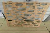 環球貿易廣場木紋鋁單板 背景牆木紋鋁單板特點