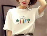 2019新款夏季白色t恤女短袖寬鬆百搭T恤女韓版
