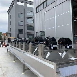 全自动风干设备 水果蔬菜清洗风干流水线