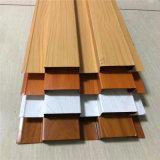仿木紋背景牆鋁條板 金屬凹凸長城板廠家預售