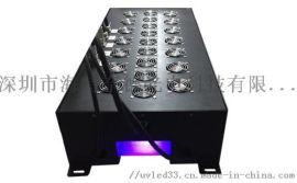 UV胶粘剂固化_紫外线led光源 多面出光
