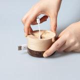 熊興木質手機支架辦公桌面通用手機架簡約實木收納