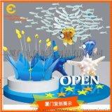 海洋馆开业DP景观展示  装饰