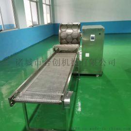 一次成型烤鸭饼机,三排排烤鸭饼机,辽宁烤鸭饼机报价
