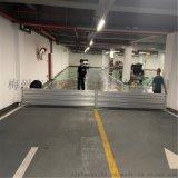 車庫防洪閘用鋁合金材料做的廠家安裝價格