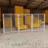 厂家车间隔离网铁丝网 工厂设备隔离防护网 库房物品防护护栏网
