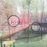 河南景阳厂家定制户外研学游乐设备丛林魔网备受欢迎