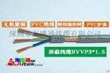 护套线kvv厂家 rvvrvvp 屏蔽电缆