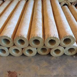 供应珠海蒸汽管道岩棉保温管