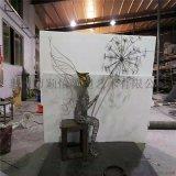 鐵藝雕塑-公園雕塑-定製工廠