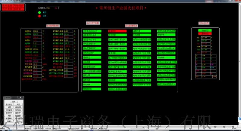常州恒生工业园光伏项目监控系统