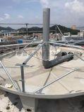 高强度200T逆流式圆形玻璃钢冷却塔直销